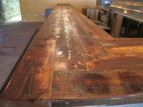 Bar Top Ideas Wood by 25 Best Ideas About Bar Tops On Industrial