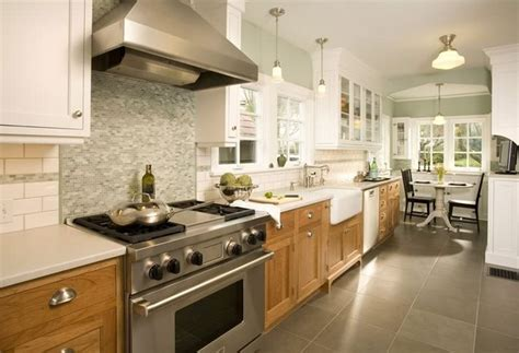 painting kitchen cabinets two different colors two toned look with wood on bottom home remodeling ideas