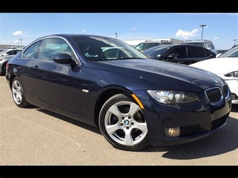 bmw 328xi coupe review pre owned blue 2007 bmw 3 series 328xi awd in depth review