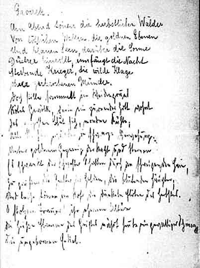 kaspar hauser liedtext manuskripte