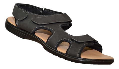 mens wide sandals mens sandals big foot adjustable wide fit size 12 13 14 15