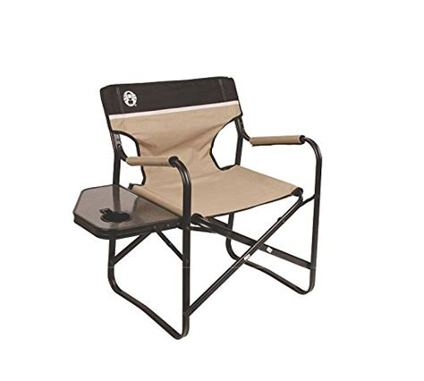 coleman portable deck chair with table coleman portable deck chair with side table your best
