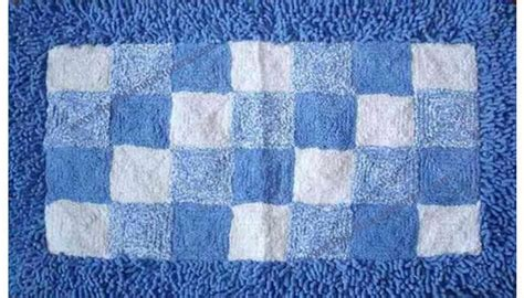 Blue And White Bath Rug Roselawnlutheran Blue And White Bathroom Rugs