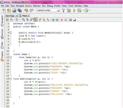 jenis layout pada java tulisanpunberceritaa contoh program pada java
