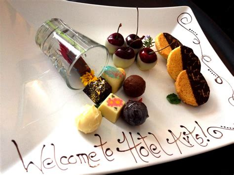 what are amenities painted valhrona chocolates cookies one of our welcome