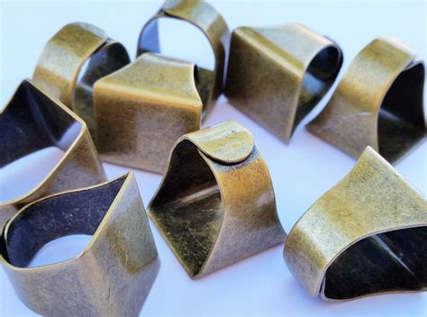jewelry supplies rings antique brass rings brass blank ring pads jewelry supplies