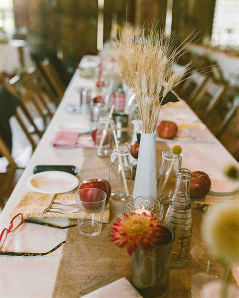 martha stewart fall centerpieces 66 rustic fall wedding centerpieces martha stewart weddings
