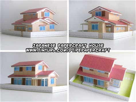 Japan Papercraft - ninjatoes papercraft weblog papercraft japanese house