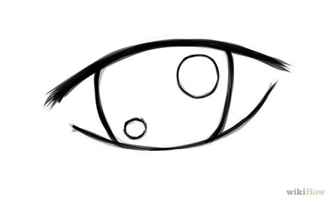anime eyes that are easy to draw how to draw simple anime eyes lets draw