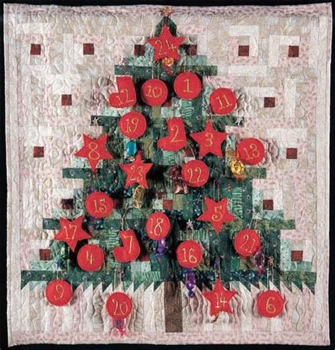 Patchwork Advent Calendar - last minute advent calendar popular patchwork