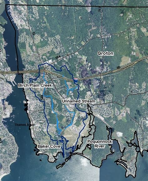 thames river connecticut map sound outlook february 2014