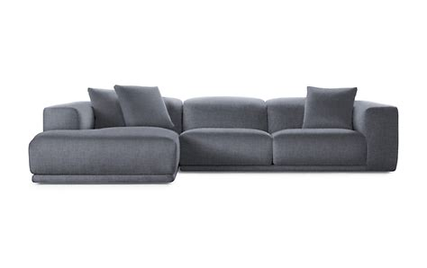 dwr sectional kelston sectional with chaise design within reach
