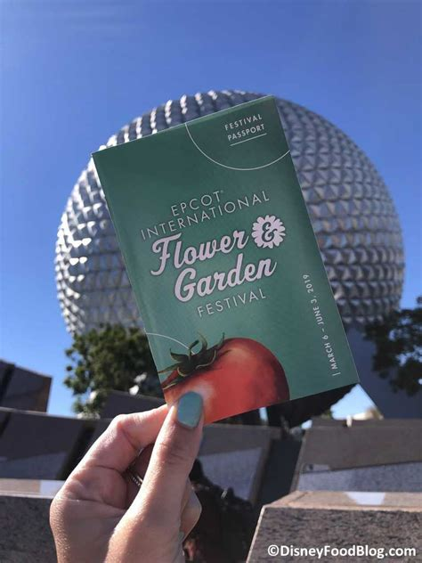 we re live at the 2019 epcot flower and garden festival