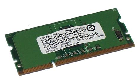 Memory Hp Visipro hp cb420 60001 cb420ax laserjet p3005 32mb memory 144 pin ddr2 ebay