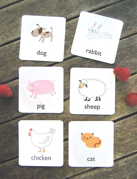 printable animal flash cards printable animal flash cards mr printables
