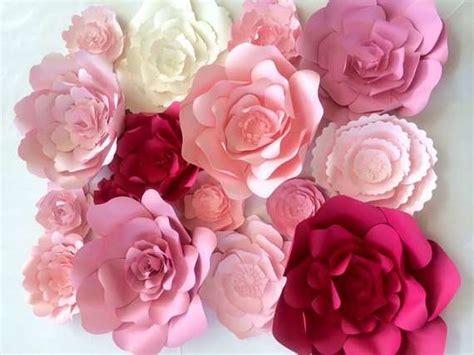 imagenes de flores grandes de papel decoraci 243 n de bodas fotos ideas flores de papel gigantes