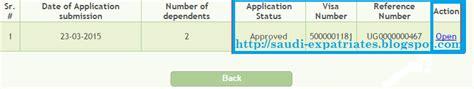 Mofa Number Check Visa Status by Permanent Family Visa Status Moi