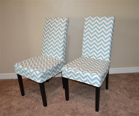 Dining Room Chair Covers With Arms Ana White Parson Chair Slip Cover With Chevron Fabric