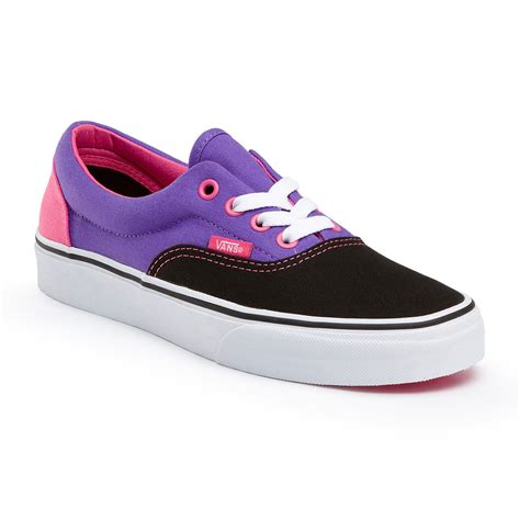 vans era purple vans era blk purple pink snowboard zezula