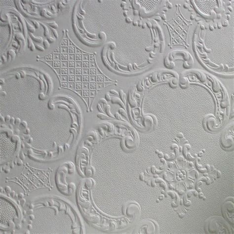 anaglypta wallpaper textured wallpaper with beautiful anaglypta paintable alfred supaglypta 33 x 20 5 quot damask