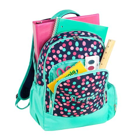 personalized book bag monogrammed book bag