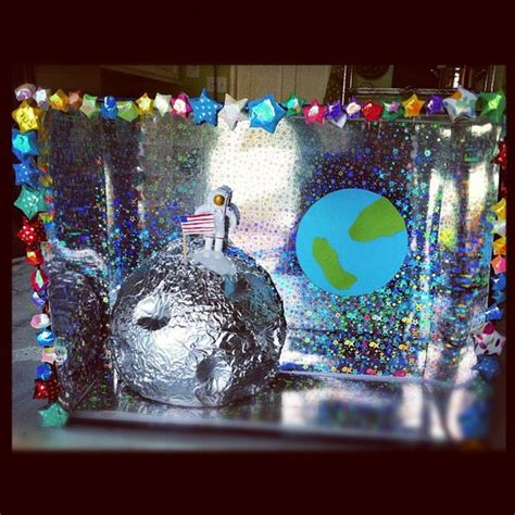 theme project exles space diorama for kids suziebeezieland crafts