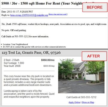 Apartment Manager Craigslist Property Management How To Make The Best Possible Cra
