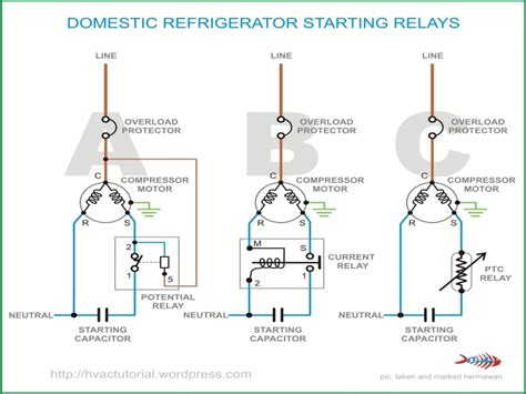 refrigerator pressor relay wiring diagrams wiring forums