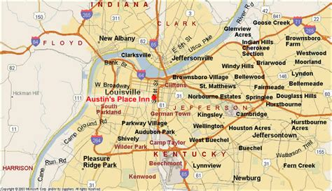 map of louisville ky image gallery louisville map