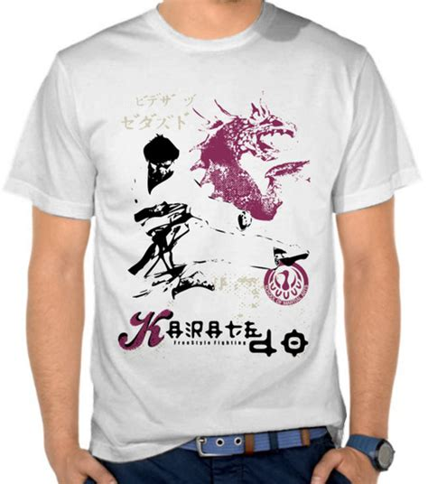 Kaos Karate 7 Om34 Oblong Distro jual kaos karate bela diri satubaju