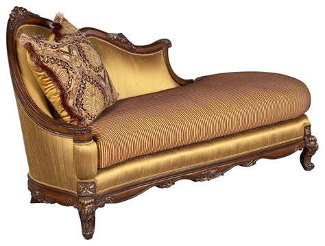 traditional chaise milania chaise lounge traditional indoor chaise lounge