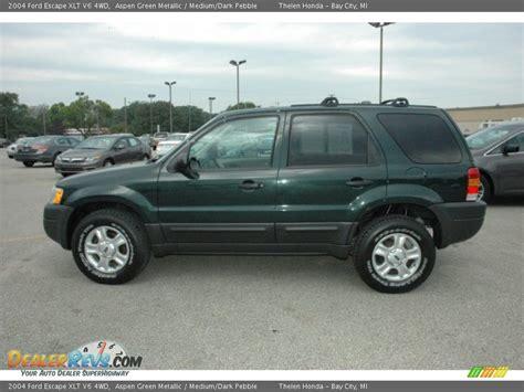 14 ford escape aspen green metallic 2004 ford escape xlt v6 4wd photo 14