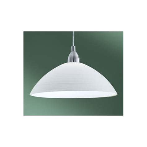 Modern White Pendant Light Eglo Eglo 88491 Lord3 1 Light Modern Pendant Ceiling Light White Handmade Glass Shade Nickel