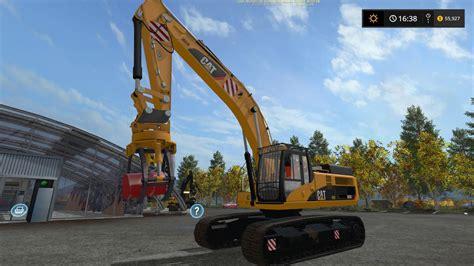 cat  grapple   fs farming simulator  fs ls mod