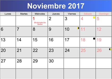 Calendario Noviembre 2017 Pdf Calendario Noviembre 2017 Imprimible Pdf Abc Calendario Es