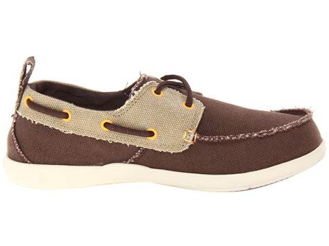 crocs walu canvas deck shoe shipped free at zappos