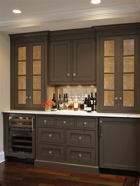 built in bar cabinets cottage kitchen photos hgtv