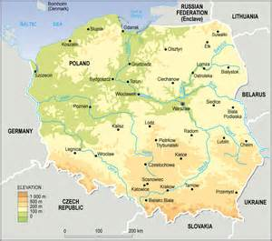 Poland On World Map by Maps Of Poland Map Library Maps Of The World
