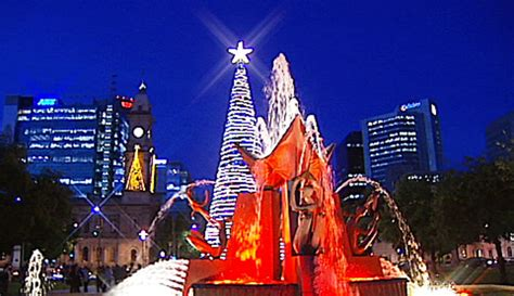 sa lights up for christmas abc adelaide australian