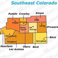 map of southeast colorado roommates and rooms for rent in prowers county