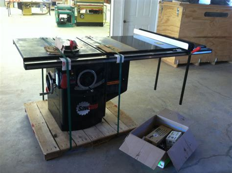 setting up sawstop outfeed incra router fence finish