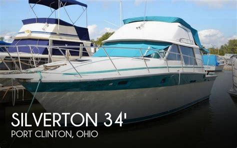 jet boats for sale port clinton ohio for sale used 1986 silverton 34 convertible in port