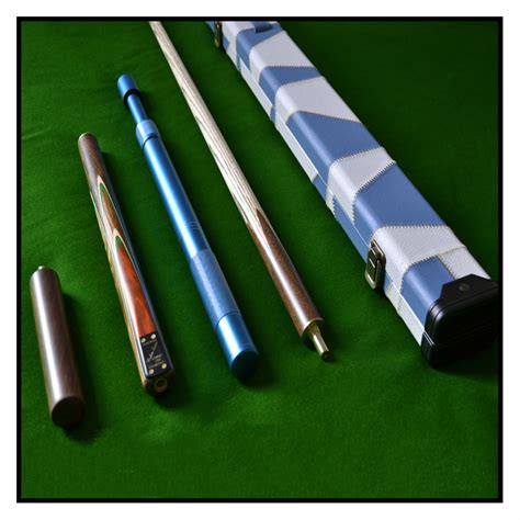 Handmade Pool Cues Uk - handmade 4 zebra wood inlayed ash snooker pool cue