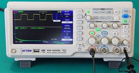 Jual Multimeter Atten jual atten ads1102cml digital storage oscilloscope