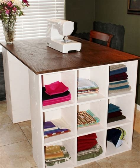 ana white sewing desk diy projects