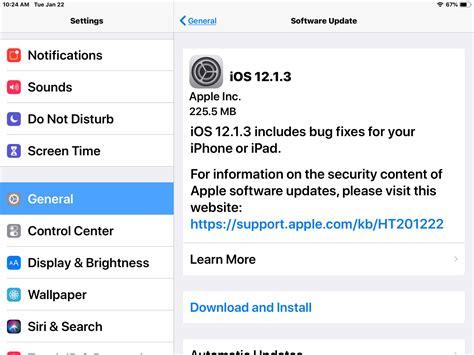 Iphone Update 12 1 Ios 12 1 3 Update Released For Iphone Now Ipsw Links