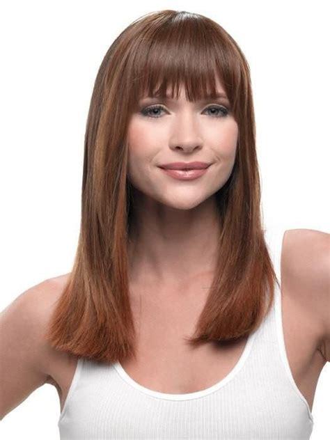 model kekinian   rambut tipis merahputih
