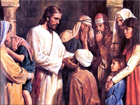 God Heals The Blind Man Medley Minute With Fr Sam God Touches Our Ears With His