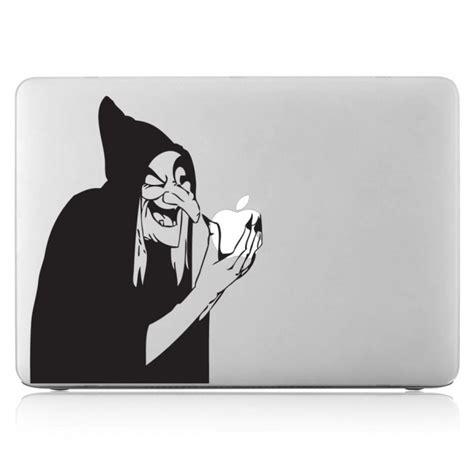 Aufkleber Auf Macbook Entfernen by Hexe Laptop Macbook Sticker Aufkleber
