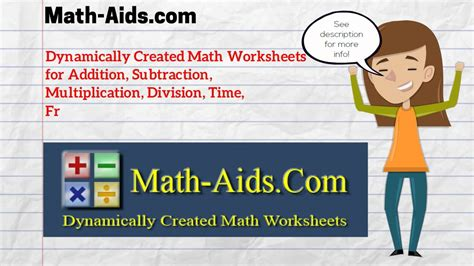 math aids math worksheets dynamically created math